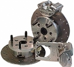 JAMAR Rear Disc Brake Kit, 14mm 4 Lug, Short Swing Axle, 2 Piston Calipers, DB101BB