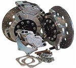 JAMAR Drag Race Rear Disc Brake Kit, 5 Lug, Long Swing Axle, 4 Piston Calipers, DB304BB