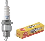 "NGK BP5HS Spark Plug, 14 x 1/2"" Reach Threads, Projected Tip, 11/16"" Socket"