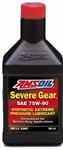 Amsoil Severe Duty Synthetic Gear Oil, 75W-90, QUART, SVGQT-EA