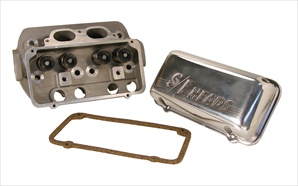 S/F I (Superflo) Cylinder Heads, Complete with Valvecovers, Pair