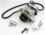 12V Alternator Kit, 55 Amp Alternator, Type 3 Engines (Squareback, Fastback, Notchback)