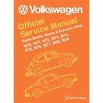 Official Bentley Service Manual 70-79' Beetle and Super Beetle