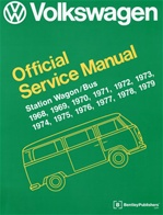 Official Bentley Service Manual 68-79' Type 2