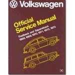 Volkswagen: Fastback, Squareback : Official Service Manual, Type 3, 1968, 1969, 1970, 1971, 1972, 1973 (Volkswagen Service Manuals from Robert Bentley, Inc)
