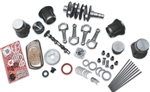 SCAT Volksracer Super Street Engine Kit, 78.8, 82, and 84mm Stroke FORGED CW Crankshaft