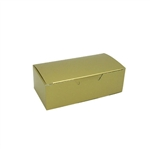 1/2 lb. Gold 1 Piece Boxes