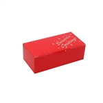 1/2 lb. Red Season's Greetings Chocolate Boxes