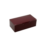 1/2 lb. Burgundy 1 Piece Boxes