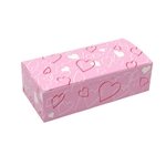 1 lb. Entangled Hearts Rectangle-Fudge Boxes
