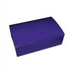1 lb. Purple Rectangle-Fudge Boxes