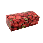 1 lb. Strawberries Rectangle-Fudge Boxes