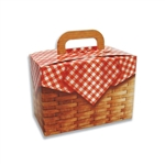 Large Picnic Basket Tote Boxes