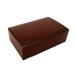 1-1/2 lb. Brown Fudge Boxes