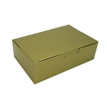 1-1/2 lb. Gold Pattern Chocolate Boxes