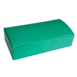2 lb. Fudge Boxes - Kelly Green