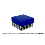 Royal Blue Candy Chocolate Box Covers-3 oz.-1 Layer