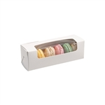 Small Macaroon Boxes with Windows