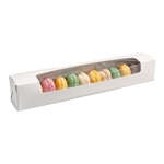 Large Macaroon Boxes with Windows