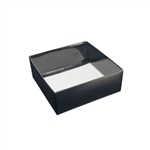 Chocolate Box Bases-16 oz.-2 Layer-Black