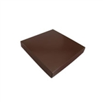 Chocolate Box Covers-8 oz.- Brown