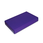 1/2 lb. Candy Box Covers-1 Layer Purple
