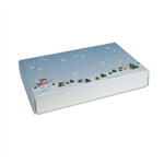 1/2 lb. Box Covers-1 Layer-Winter Scene
