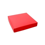 Chocolate Box Covers-8 oz.- Red