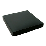 Chocolate Box Covers-16 oz.-1 Layer-Black