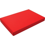 1-1/2 lb. Box Covers-1 Layer-Red