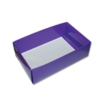 Chocolate Box Bases-1 lb. 2 Layer Purple