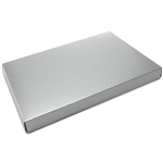 1-1/2 lb. Box Covers-1 Layer-Silver Lustre