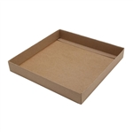 16 oz. Square Kraft Candy Box Bases