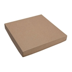 16 oz. Square Kraft Chocolate Box Covers