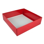 Candy Box Bases - 32 oz.-2 Layer-Red