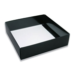 Chocolate Box Bases-32 oz.-2 Layer-Black