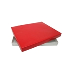 2 lb. Rigid Set Up Boxes-Cover & Base Sets-Red