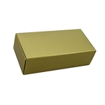 1 lb. 1 layer Gold Candy Boxes