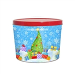 Two Gallon Popcorn Tin Pail - Holiday Gifts