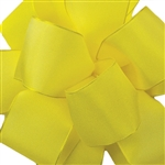 Offray Wire Edge Gelato Ribbon-654 Yellow Chiffon