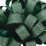 Offray Luxe Ribbon - Holiday Green