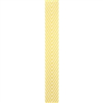 Kessie Chevron Twill Ribbon Yellow
