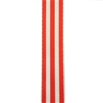Carnival Candy Stripes Orange Grosgrain
