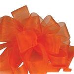 Offray Simply Sheer Asiana Ribbon - 744 Orange