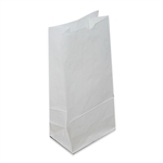 16 lb White Grocery Bags