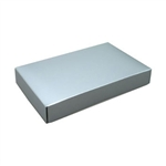 1/2 lb. Box Covers-1 Layer-Silver Lustre