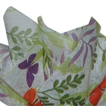 "Butterfly 2 Sided Waxed Tissue Paper - 18"" x 24"" Sheets"