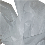 "White 2 Sided Waxed Tissue Paper - 18"" x 24"" Sheets"