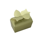 Large Gold Bow Favor Boxes
