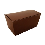 1 lb. Brown Ballotin Boxes